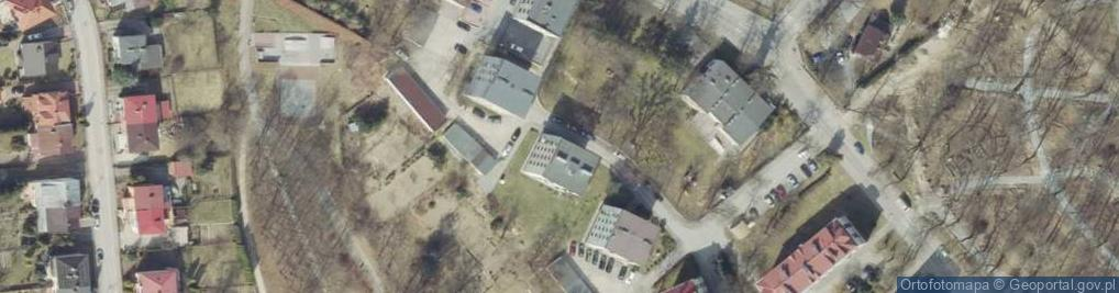 Zdjęcie satelitarne Słowackiego Juliusza ul.