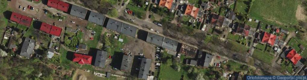 Zdjęcie satelitarne Sobieskiego ul.