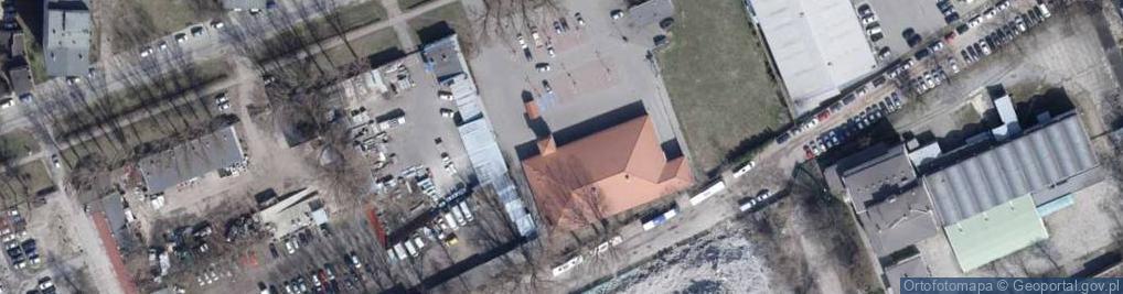 Zdjęcie satelitarne Srebrzyńska ul.