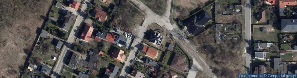 Zdjęcie satelitarne Stylowa ul.