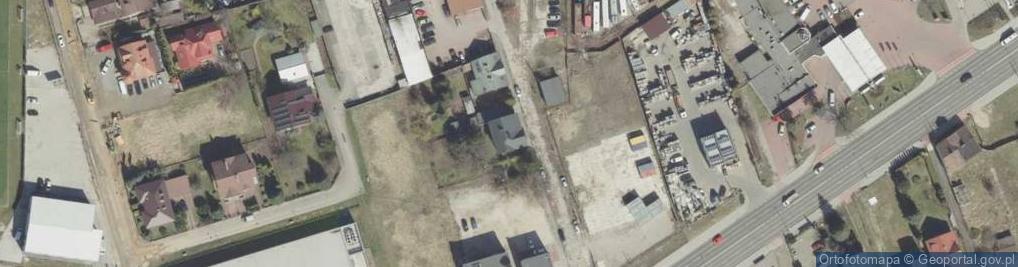 Zdjęcie satelitarne Strusińska ul.