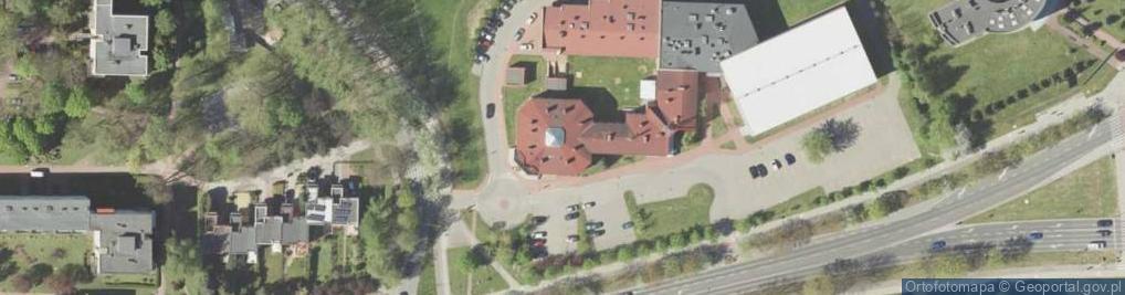 Zdjęcie satelitarne Symfoniczna ul.