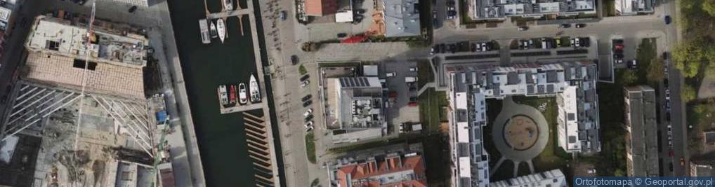 Zdjęcie satelitarne Szafarnia ul.