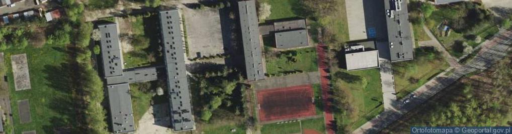 Zdjęcie satelitarne Techników ul.