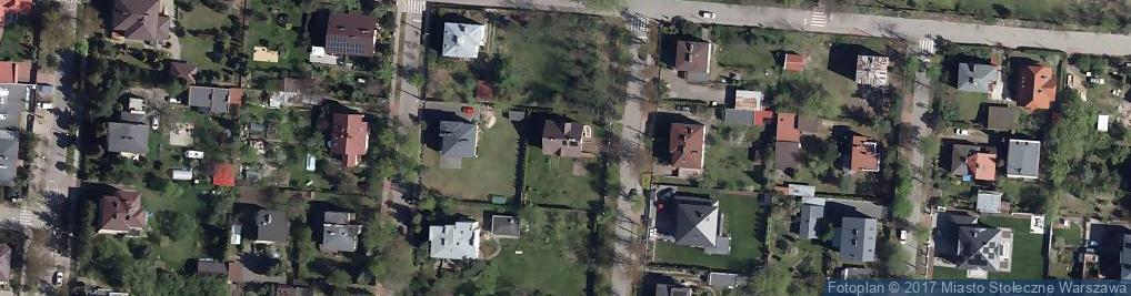 Zdjęcie satelitarne Ułańska ul.