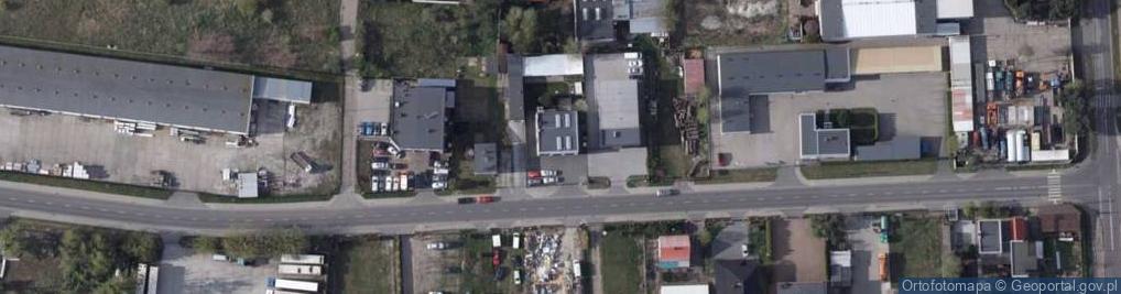 Zdjęcie satelitarne Wąbrzeska ul.