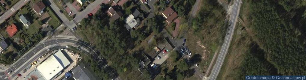 Zdjęcie satelitarne Wiązowska ul.