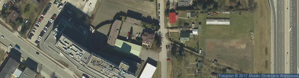 Zdjęcie satelitarne Wirażowa ul.