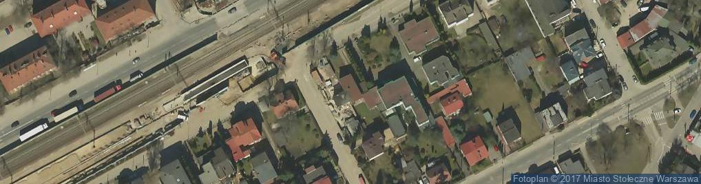 Zdjęcie satelitarne Wiosny Ludów ul.