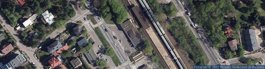 Zdjęcie satelitarne Widoczna ul.