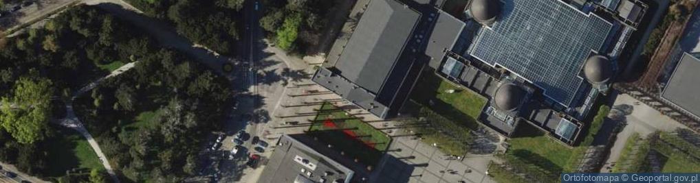 Zdjęcie satelitarne Wystawowa ul.