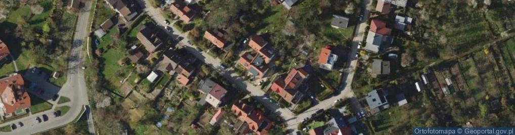 Zdjęcie satelitarne Zakosy ul.