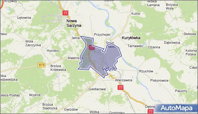 gmina Leżajsk - powiat leżajski na mapie Targeo