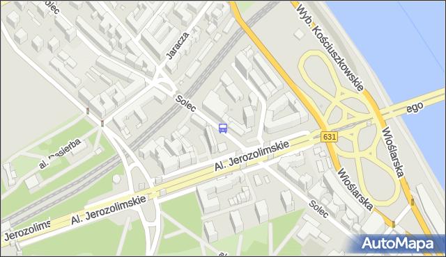 Przystanek AL. 3 MAJA 02. ZTM Warszawa - Warszawa na mapie Targeo