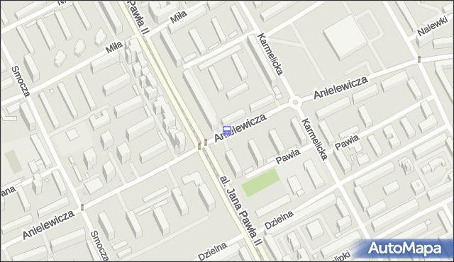Przystanek ANIELEWICZA 04. ZTM Warszawa - Warszawa na mapie Targeo