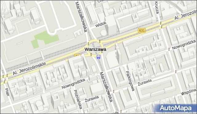 Przystanek CENTRUM 08. ZTM Warszawa - Warszawa na mapie Targeo