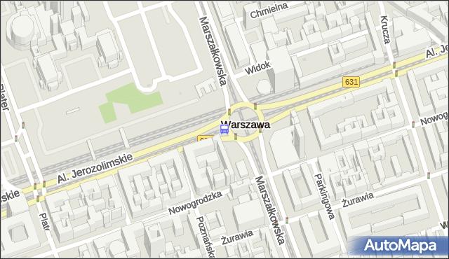 Przystanek CENTRUM 09. ZTM Warszawa - Warszawa na mapie Targeo