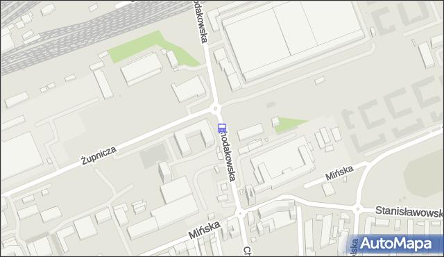 Przystanek Chodakowska 02. ZTM Warszawa - Warszawa na mapie Targeo