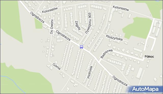 Przystanek Dywizjonu 303 11. ZDiTM Szczecin - Szczecin na mapie Targeo