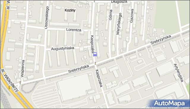 Przystanek Kasprzaka - Srebrzyńska. MPKLodz - Łódź na mapie Targeo