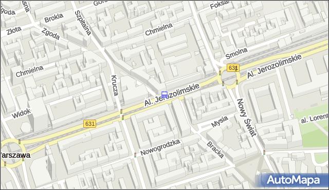 Przystanek KRUCZA 02. ZTM Warszawa - Warszawa na mapie Targeo