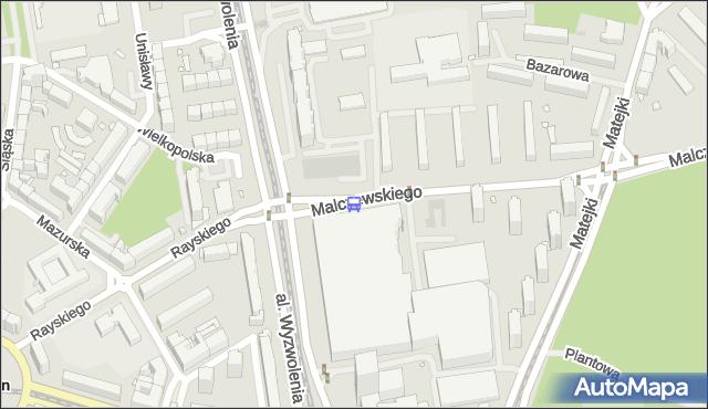 Przystanek Malczewskiego 11. ZDiTM Szczecin - Szczecin na mapie Targeo