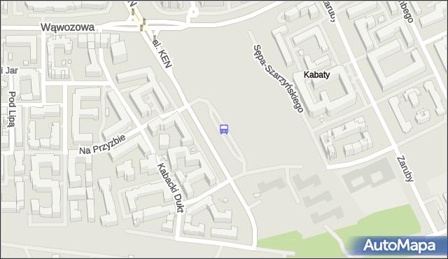 Przystanek OS.KABATY 03. ZTM Warszawa - Warszawa na mapie Targeo