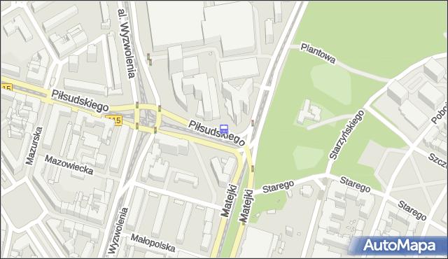 Przystanek Plac Rodła 22. ZDiTM Szczecin - Szczecin na mapie Targeo