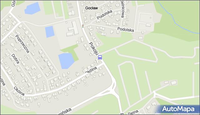 Przystanek Pokoju 12. ZDiTM Szczecin - Szczecin na mapie Targeo