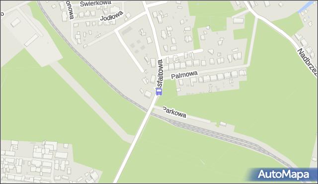 Przystanek Police Palmowa 12. ZDiTM Szczecin - Szczecin na mapie Targeo