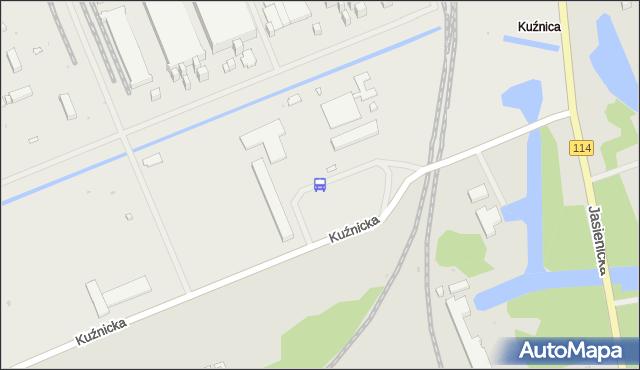 Przystanek Police Zakłady Chemiczne 12. ZDiTM Szczecin - Szczecin na mapie Targeo