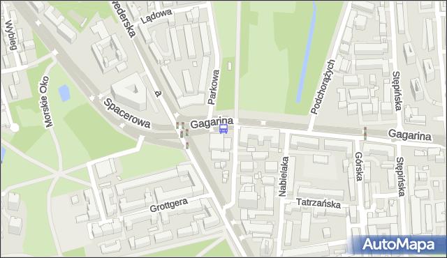 Przystanek SPACEROWA 03. ZTM Warszawa - Warszawa na mapie Targeo