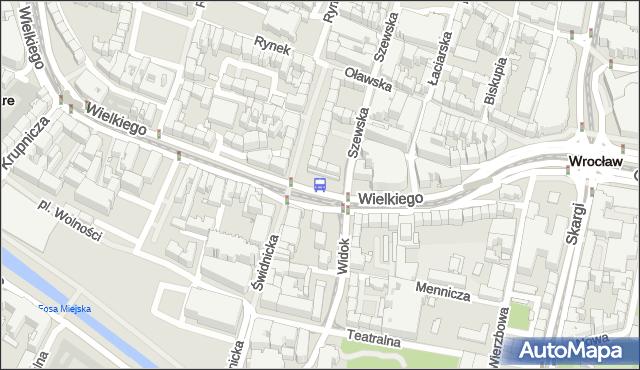 Przystanek Świdnicka. MPKWroclaw - Wrocław na mapie Targeo