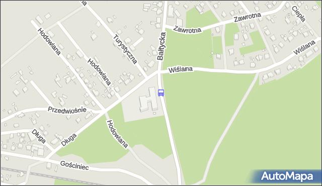 Przystanek Wiślana 11. ZDiTM Szczecin - Szczecin na mapie Targeo