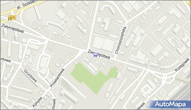 Przystanek Zwycięstwa/W.S.E.. BKM - Białystok (google) na mapie Targeo