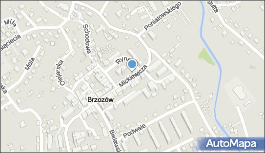 Pod Ratuszem, 36-200 Brzozów, ul. Mickiewicza 9 - Apteka, numer telefonu