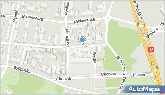 Przed szpitalem zakaźnym, Krasińskiego Zygmunta 4a, Toruń 87-100 - Bezpłatny - Parking
