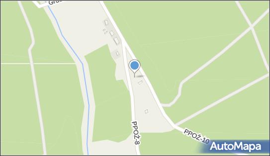 Grudna - całkowicie zniszczona miejscowość, PPOŻ-8 - Ciekawe miejsce