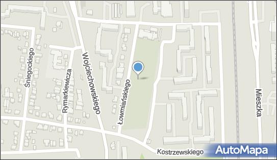 cmentarz parafii św. Stanisława Kostki, Łowmiańskiego Henryka 60-685 - Cmentarz