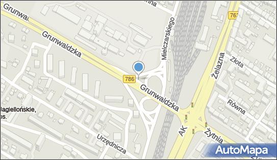 Kiosk, DW 786, Grunwaldzka, Kielce - Kiosk