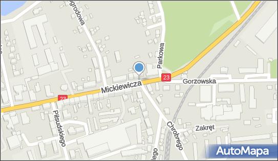 Monitoring miejski, Mickiewicza Adama23, Dębno 74-400 - Monitoring miejski