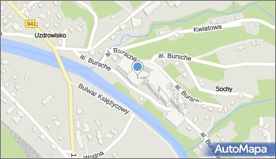 Hotel Gołebiewski, 43-460 Wisła, al. ks., bp. Julisza Bursche 3 - Płatny-strzeżony - Parking