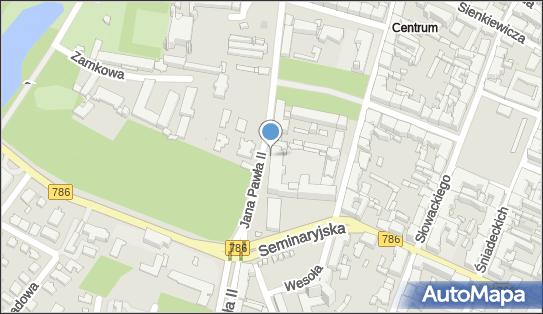 św. Trójcy - Wyższe Seminarium Duchowne, Jana Pawła II, Kielce 25-025 - Rzymskokatolicki - Kościół