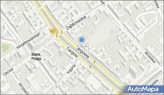 Synagoga, Warszawa, Targowa 50/52 - Synagoga
