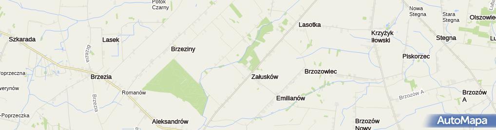 Zdjęcie satelitarne Młodzieżowy Ośrodek Wychowawczy Dom na szlaku