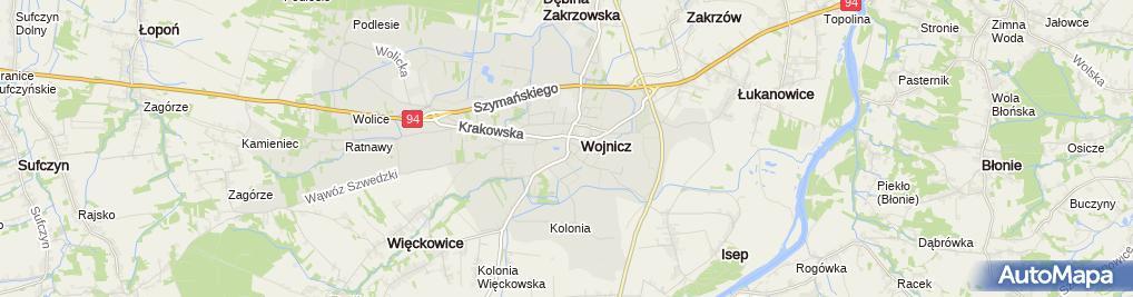"""Zdjęcie satelitarne Biuro Rachunkowe """"TAX OFFICE"""" Bożena Golonka"""