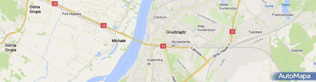 Zdjęcie satelitarne Wema