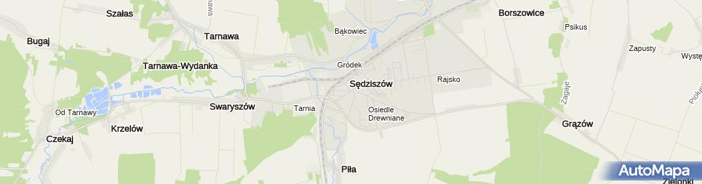 Zdjęcie satelitarne Zbierański