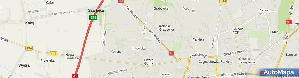 Zdjęcie satelitarne Drewmor