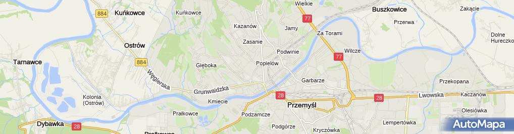 Zdjęcie satelitarne BZ WBK